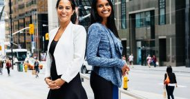 BizXPro founders Thyagi DeLanerolle and Judy Escobar