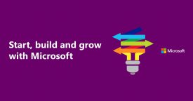 Start, build and grow with Microsoft