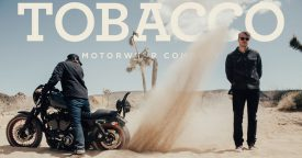 Tobacco Motorwear is one tough brand