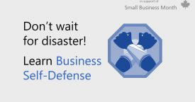 Microsoft Canada's Business Self-Defense… 22 days of security tips all…